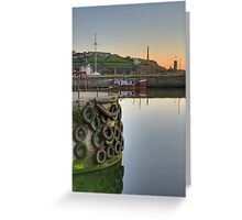 Historic Harbour Greeting Card