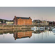 Whitehaven Queens Dock Photographic Print