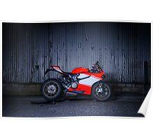 Ducati 1199 Superleggera Poster