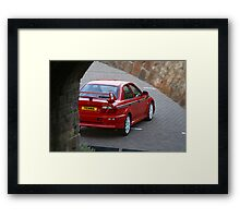 EVO TME through arches Framed Print