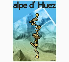 Cycling Poster of Alpe d Huez Unisex T-Shirt