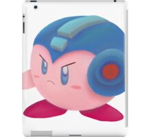 Kirby Megaman buster iPad Case/Skin