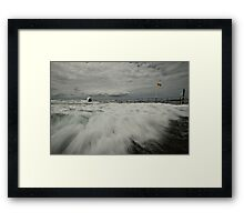 Incoming! Framed Print