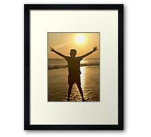 Bali Sunset Framed Print