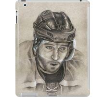 Patrice Bergeron - Boston Bruins Hockey Portrait iPad Case/Skin