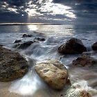 Baronia Beach, Tasmania by Kye Vincent