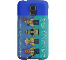 Where is the party@? Samsung Galaxy Case/Skin