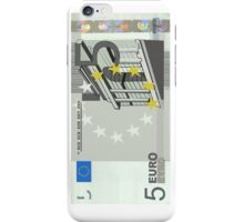 5 Euro Note Bill iPhone Case/Skin