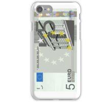5 Euro Note Bill iPhone Case/Skin