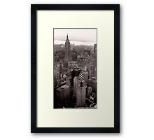 New York Skyscrapers Framed Print