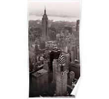 New York Skyscrapers Poster