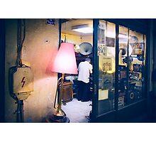 gramophone repair shop Photographic Print