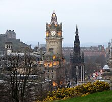 Edinburgh, Scotland--Cityview by linda lowry