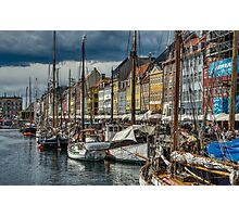 Copenhagen Canal Photographic Print