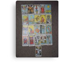 The Tarot  Canvas Print