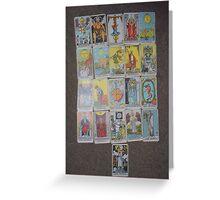 The Tarot  Greeting Card