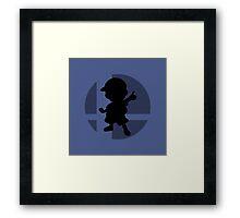 Smash Bros - Ness Framed Print
