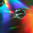 Water Droplet in Rainbow by Paul Revans