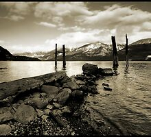 Lake Kootenay Mono by Robert Mullner
