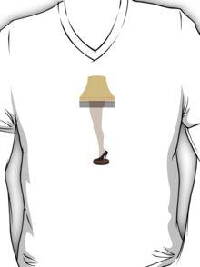 Lamp Leg Christmas Story Movie T-Shirt