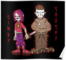 chucky and cindy Poster