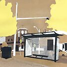 Erskineville Bus Stop by Susan Craig