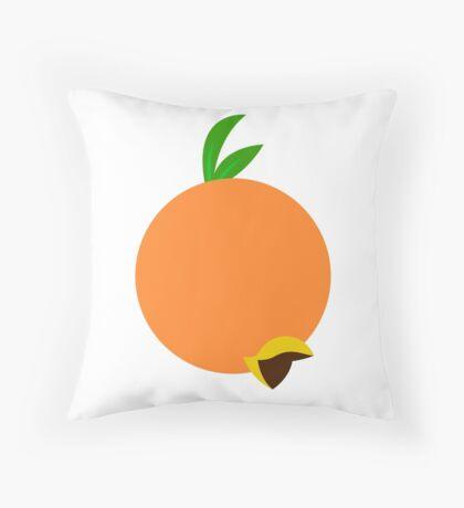 Winged Citrus Throw Pillow