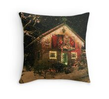 Gingerbread House : Butchart Gardens Throw Pillow