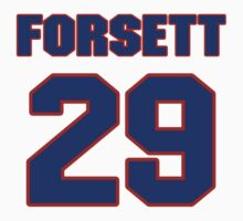 National football player Justin Forsett jersey 29 T-Shirt