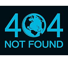 Not Found Photographic Print