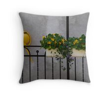 colours in a grey world Throw Pillow