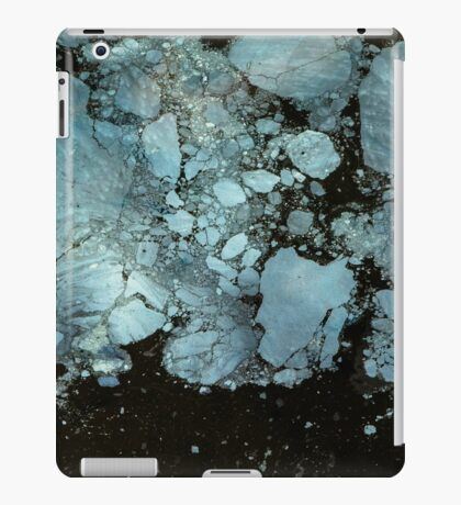 Blue oil iPad Case/Skin