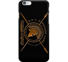 Spartan warrior iPhone Case/Skin