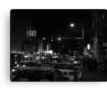 4th & Washington; State Theatre Canvas Print