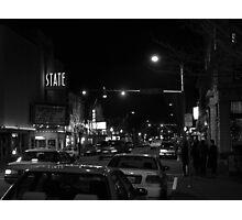 4th & Washington; State Theatre Photographic Print