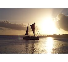 Port Vila Sunset Photographic Print