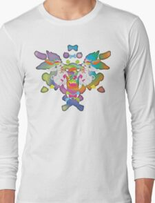Peanut's Psychedelic Party Time Long Sleeve T-Shirt