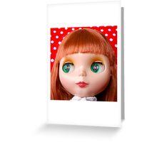 Polka Dot Sweetheart Greeting Card