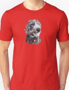 Cute stylized scruffy pup Unisex T-Shirt