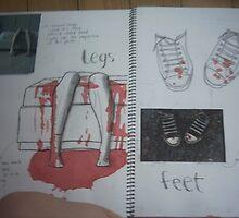 studio art folio pg 7 by papercutgirl