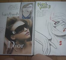 studio art folio pg 8 by papercutgirl