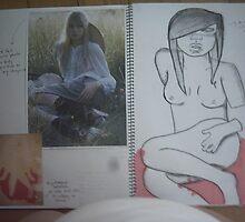studio art folio pg 10 by papercutgirl
