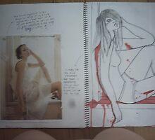 studio art folio pg 11 by papercutgirl