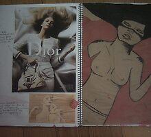 studio art folio pg 12 by papercutgirl