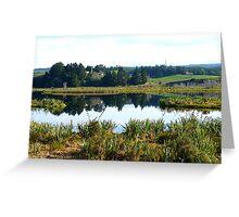 Sinclair Wetlands - Waihola-Waipori - Otago New Zealand Greeting Card