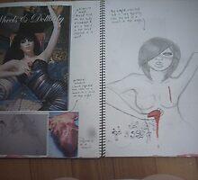studio art folio pg 13 by papercutgirl