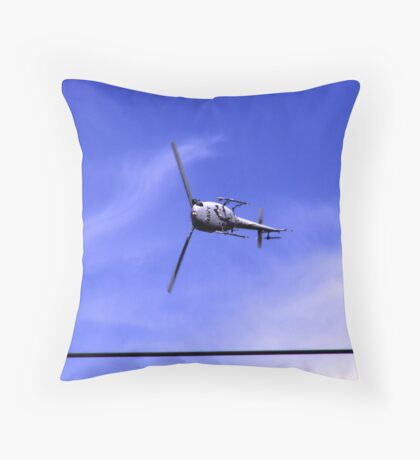 can helicopters really do this Throw Pillow