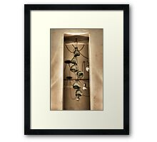 Hanging Glass Framed Print