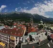 Postcard from Innsbruck by Stefan Trenker