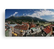 Postcard from Innsbruck Canvas Print